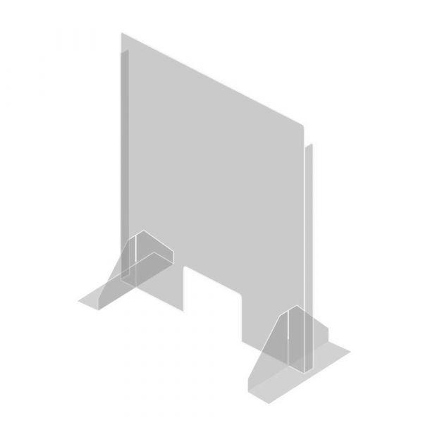 SaniFine 570968 - ochranná přepážka plexisklo volně stojící