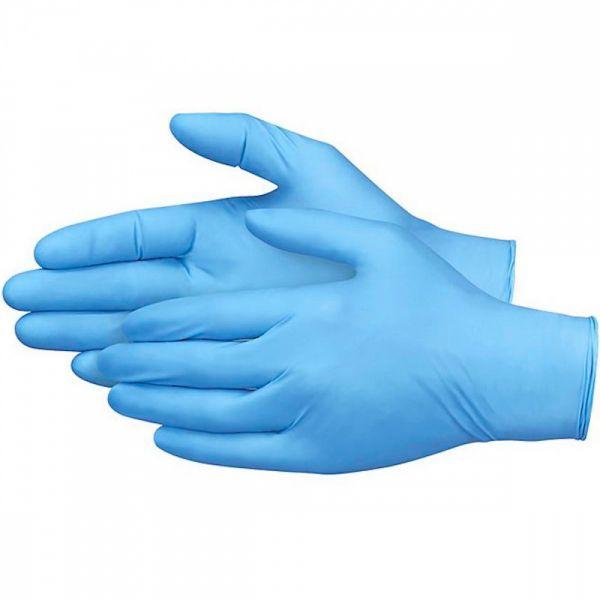 SaniFine 570975 - jednorázové nitrilové rukavice. vel. M. 100 ks