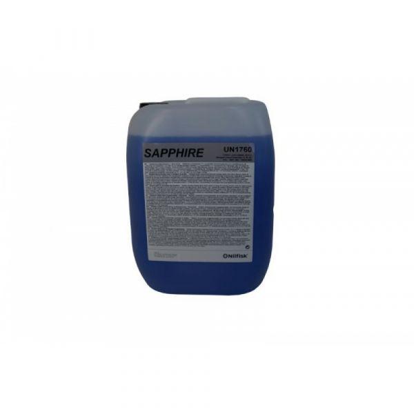 SAPHIRE SV1 4x2.5 l - Tekutý. alkalický. pěnivý čisticí prostředek. napomáhající schnutí