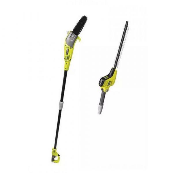 Ryobi RP750450 - Kombo sada - tyčový plotostřih a tyčová prořezávací pila