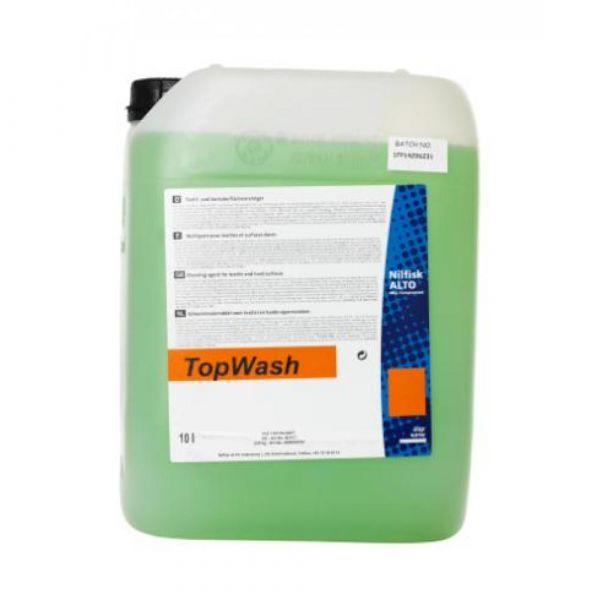 TOPWASH SV1 10 l - Tekutý. mírně pěnivý čisticí prostředek určený na odstraňování mastnoty