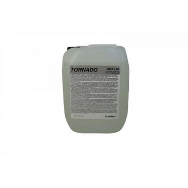 TORNADO SV1 10 l - Tekutý. silně alkalický. mírně pěnivý čisticí prostředek účinný proti silně ulpělým mastným nečistotám
