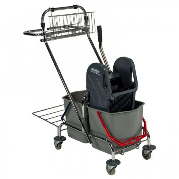 Úklidový vozík Sprintus 2 x 17 litrů