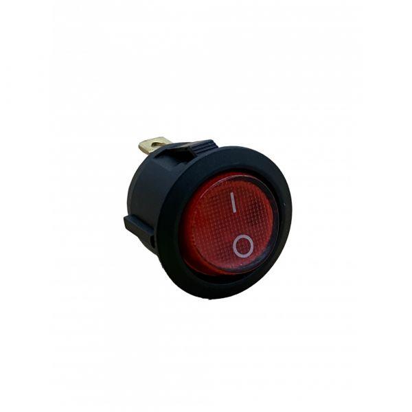 Vypínač červený pro Bohman 2 MR2020