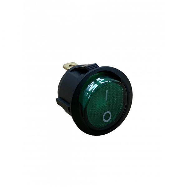 Vypínač zelený pro Bohman 2 MR2020