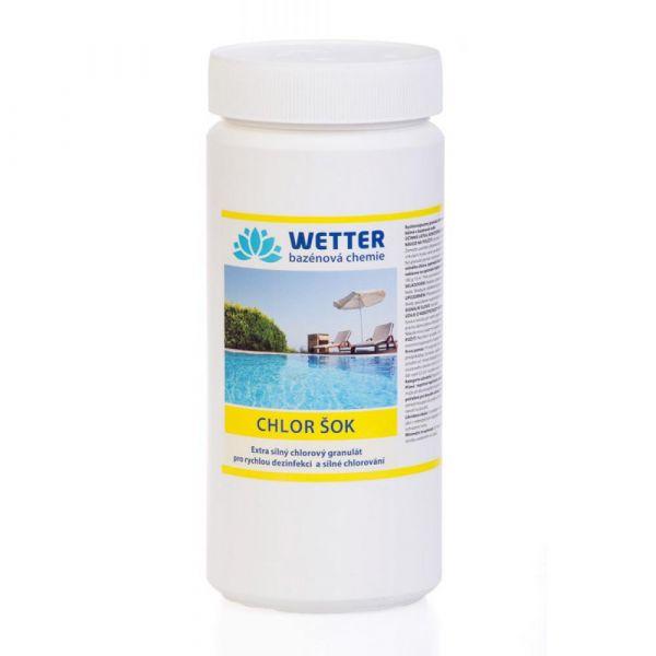 WETTER chlor šok 1.4 kg