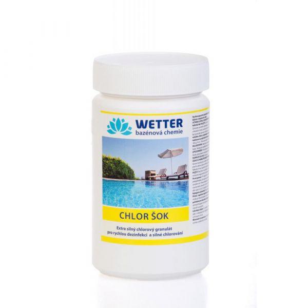 WETTER chlor šok 1 kg