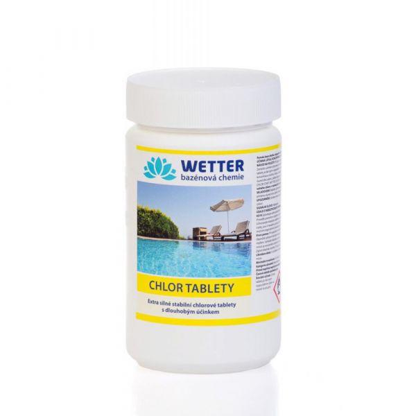 WETTER chlor tablety 1.2 kg