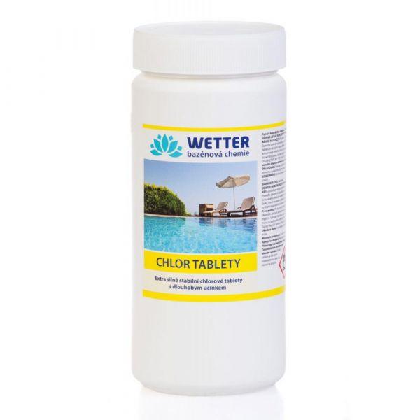 WETTER chlor tablety 1.6 kg