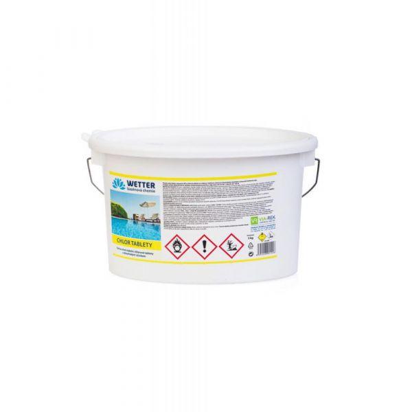 WETTER chlor tablety 5 kg