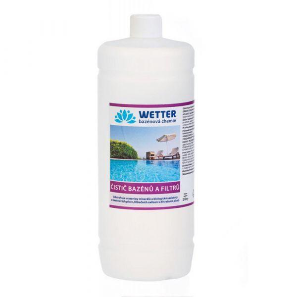 WETTER čistič bazénů a filtrů 2 l