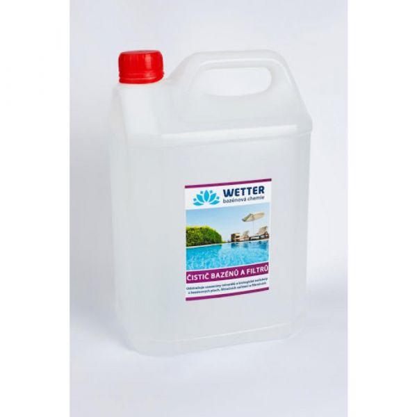 WETTER čistič bazénů a filtrů 5 l
