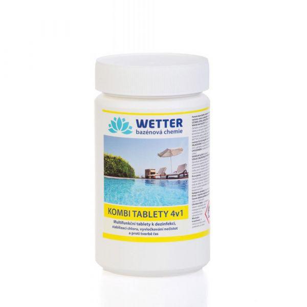 WETTER kombi tablety 4 v 1 (1.2 kg)
