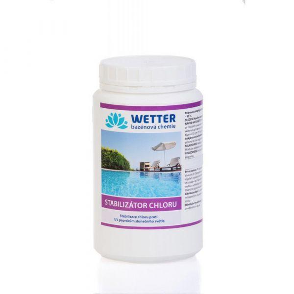 WETTER stabilizátor chloru 1 kg